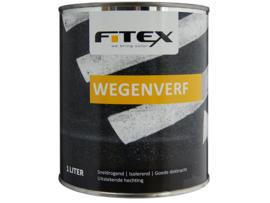 Fitex Wegenverf Wit 1 Liter