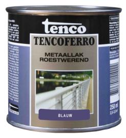 Tenco Ferro Metaallak Roestwerend Zijdeglans Blauw 250 ml