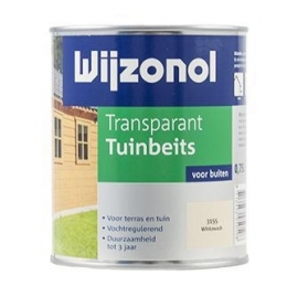 Wijzonol Transparant Tuinbeits 3155 Whitewash 2,25 Liter
