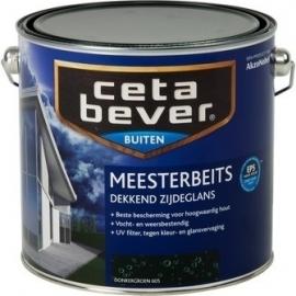 Cetabever Meesterbeits UV Dekkend Zijdeglans Wijnrood 438 2,5 Liter