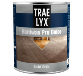 Trae Lyx Hardwax Pro Color Licht Grijs 750 ml