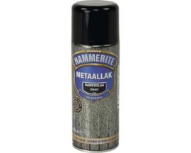 Hammerite Metaallak Hamerslag H160 Zwart Spuitbus 400 ml