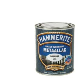 Hammerite Metaallak Hamerslag Wit  H110 750 ml