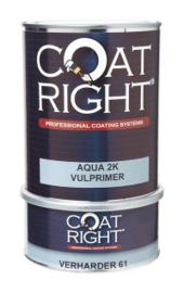 Coat Right Aqua 2K Vulprimer Wit 1 liter