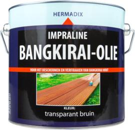 Hermadix Impraline Bangkirai Olie Transparant Bruin 2,5 Liter