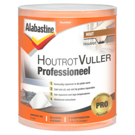 Alabastine Houtrotvuller Professioneel 330 gram
