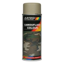 Motip Camouflagelak Mat Legergrijs 400 ml