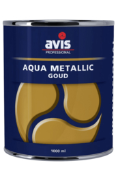 Avis Aqua Metallic Goud 125 ml