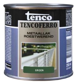 Tenco Ferro Metaallak Roestwerend Zijdeglans Groen 250 ml