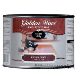 Golden Wave Kleur Wax Chocolade 500 ml