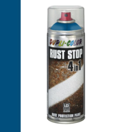 Dupli Color Rust Stop 4 in 1 Satin Matt RAL 5010 Enzianblauw 400 ml