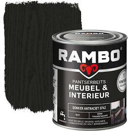Rambo Pantserbeits Meubel & Interieur Donker Antraciet 0742 750 ml
