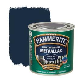 Hammerite Metaallak Zijdeglans  Standblauw Z228 250 ml