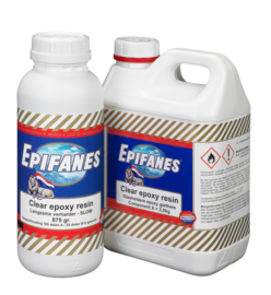 Epifanes Clear Epoxy Resin A+B 3,125 Kg