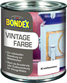 Bondex Vintage Farbe 800 Krijtwit 375 ml