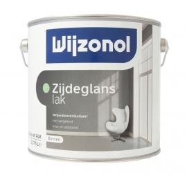 Wijzonol Zijdeglanslak Terpentineverdunbaar voor Binnen 2,5 Liter