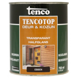 Tencotop Deur & Kozijn Transparant Halfglans Ebben 750 ml