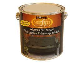 Verfijn Steigerhoutbeits Antraciet Wash 2,5 Liter