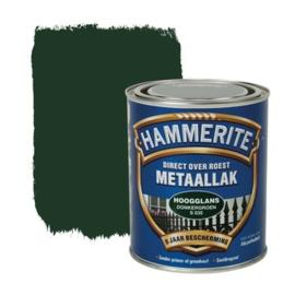 Hammerite Metaallak Donkergroen S035 Hoogglans 750 ml