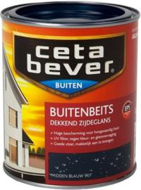 Cetabever Buitenbeits UV Dekkend Midden Blauw 907 750 ml