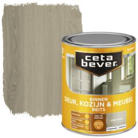 CetaBever Deur-, Kozijn- en Meubelbeits Grey Wash Zijdeglans 750 ml