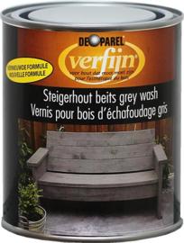 Verfijn Steigerhoutbeits Grey Wash 750 ml