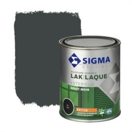 Sigma Lak Exterieur Hout Zijdeglans RAL 7021 750 ml