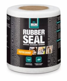 Bison Rubber Seal Textielband 100 mm x 10 meter