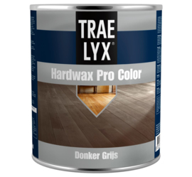 Trae Lyx Hardwax Pro Color Donker Grijs 750 ml