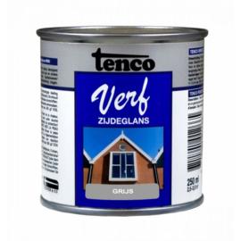 Tenco Verf Zijdeglans Grijs 250 ml