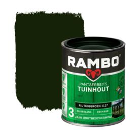 Rambo Pantserbeits Tuinhout Dekkend Rijtuiggroen 1127 750 ml