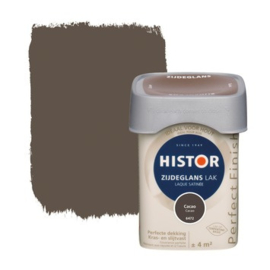 Histor Perfect Finish lak Cacao 6472 Zijdeglans 250 ml