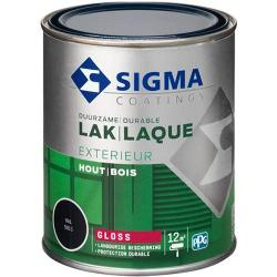 Sigma Lak Exterieur Hout Hoogglans Mengen in alle Kleuren 750 ml