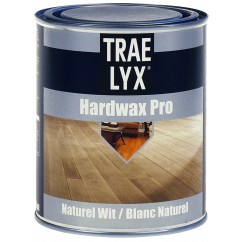 Trae Lyx Hardwax Pro Naturel Wit 750 ml