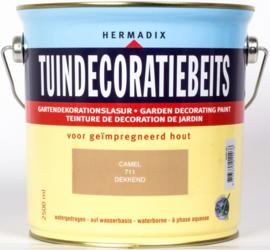 Hermadix Tuindecoratiebeits 711 Camel Dekkend 2,5 Liter