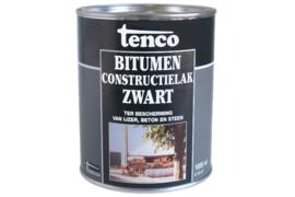 Bitumen Constructielak Zwart 1 Liter