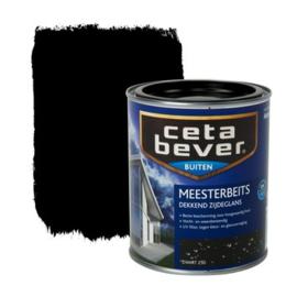 Cetabever Meesterbeits UV Dekkend Zijdeglans Zwart 250 750 ml
