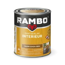 Rambo Pantserlak Interieur Warm Eiken 0804 MAT 750 ml