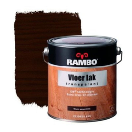 Rambo Vloer Lak Acryl Transparant Zijdeglans Warm Wengé 776 750 ml
