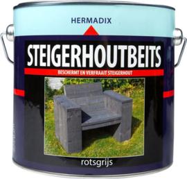 Hermadix Steigerhoutsbeits Rotsgrijs 2,5 Liter