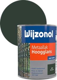 Wijzonol Metaallak Hoogglans 9325 Woudgroen 750 ml