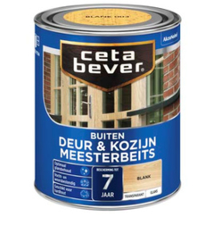 Cetabever Buiten Deur & Kozijn Meesterbeits Transparant UV Zijdeglans Licht Eiken 006 750 ml