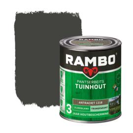 Rambo Pantserbeits Tuinhout Transparant Antraciet 1218 750 ml