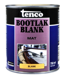 Tenco Bootlak Mat Blank 750 ml