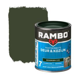 Rambo Pantserbeits Deur en Kozijn Dekkend Zijdeglans Bosgroen 1131 750 ml