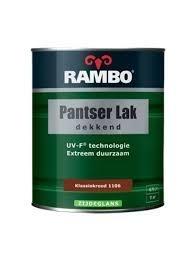 Rambo Pantser Lak Dekkend Zijdeglans Ivoorwit 1101 750 ml