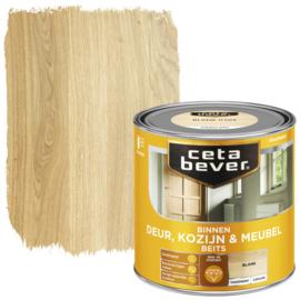 CetaBever Deur-, Kozijn- en Meubelbeits Blank Zijdeglans 250 ml