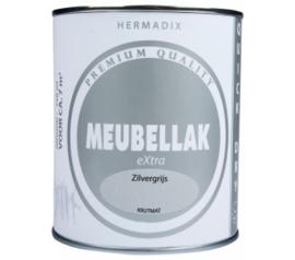 Hermadix Meubellak eXtra Zilvergrijs Krijtmat 750 ml