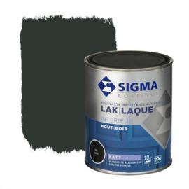 Sigma Lak Interieur Hout Mat RAL 9005 750 ml