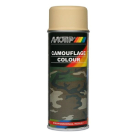 Motip Camouflagelak Mat RAL 1001 Beige 400 ml